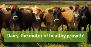 Dairy, the motor of healthy growth!